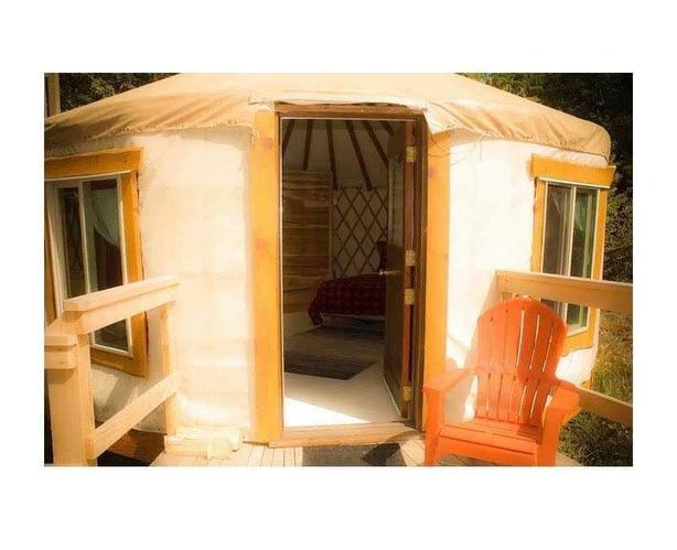 Nightly rates starting at $99  West Coast Yurt Retreat