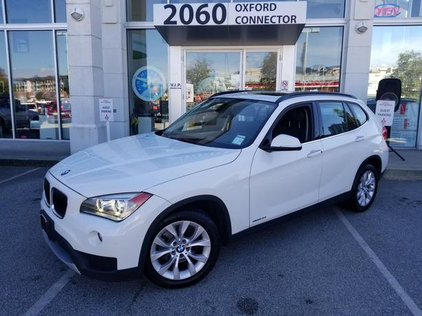 2013 BMW X1 28i Navigation-Leather-Sunroof AWD