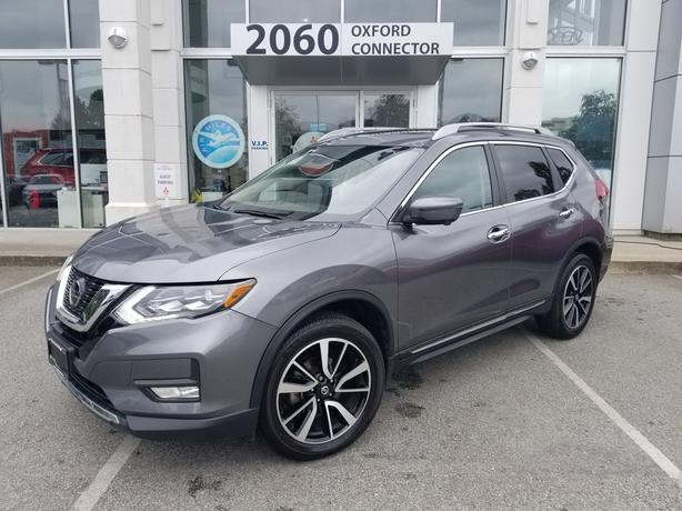 2018 Nissan Rogue SL Navigation-Leather-Sunroof AWD
