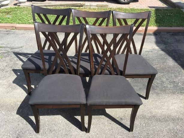 Chairs ($40 each / got 5)