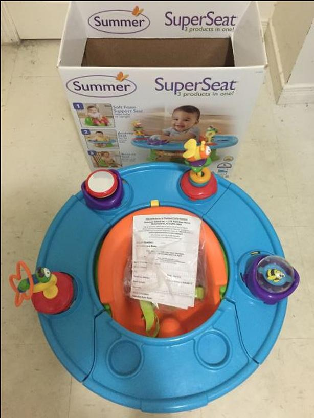 Infant Booster Seat/Soft Foam Support Seat/Activity Seat