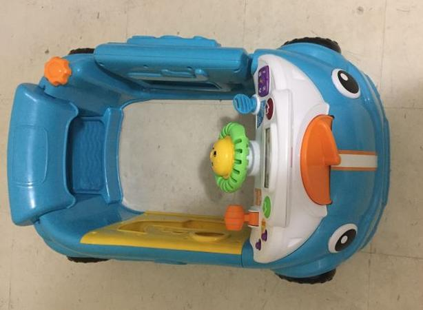 Toy Car (For baby 6-36 months/75+ sing-along songs/Interactive dashboard)