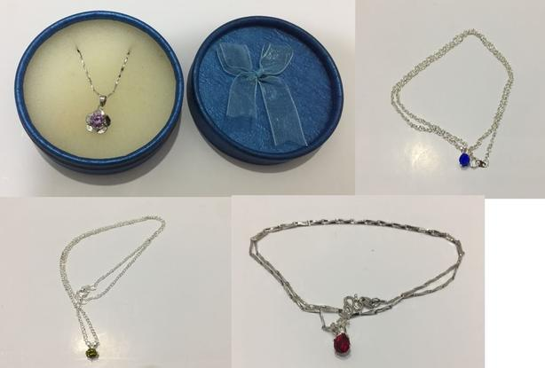 Necklaces (Materials:Sterling Silver)
