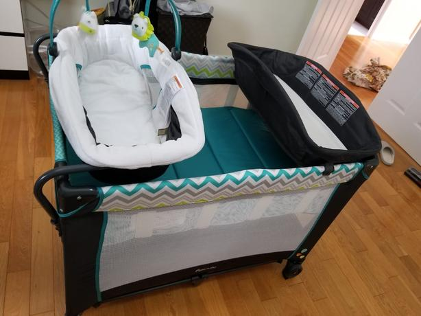 Baby Playpen (Portable/Packable/with Changing Table)