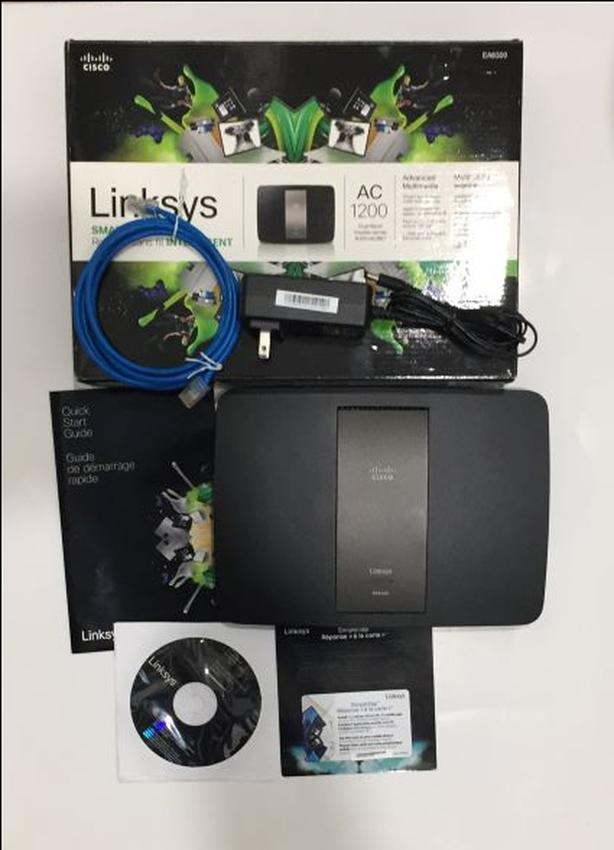 Router (USB 3.0/Wireless AC/2.4&5Ghz bands/Gigabit WAN&LAN)