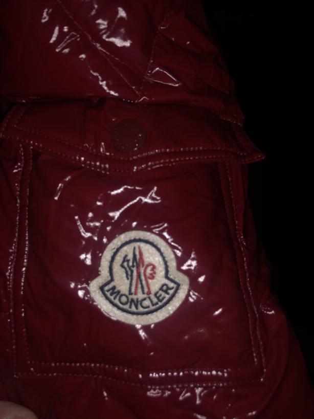 Red Maya Moncler Jacket