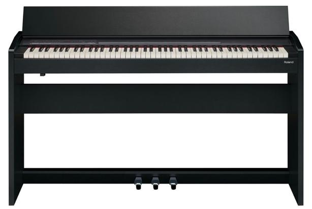 Roland 88-Key Digital Piano (F-130R-CB) - Black