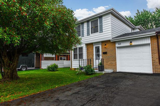 61 Cloverdale Drive, Brampton MLS Real Estate Listing