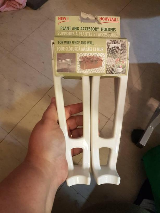 plant fence holders