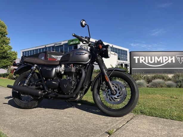 2016 Triumph Bonneville T120 Black