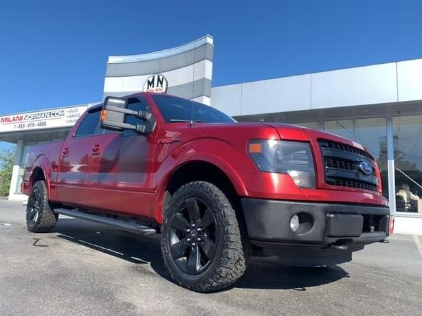 Used 2013 Ford F-150 FX4 4WD ECO-BOOST LEATHER SUNROOF NAVI CAMERA Crew Cab