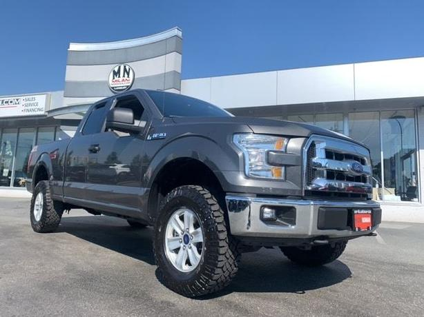 Used 2016 Ford F-150 XLT 4WD 5.0L V8 LB REAR CAMERA LEVELED 131KM Super Cab