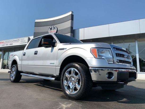 "Used 2014 Ford F-150 XTR XLT 4WD ECO-BOOST 20"" WHEELS CAMERA Crew Cab"