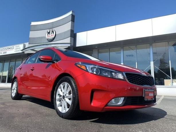 Used 2017 Kia Forte EX + AUTOMATIC A/C HEATED SEATS REAR CAMERA Sedan