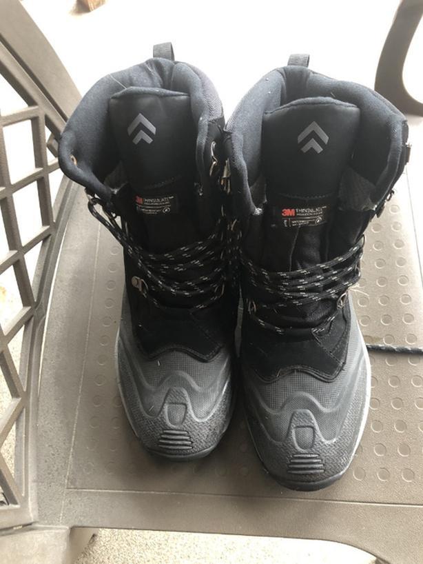Men's BANFF TRAIL Cresthaven Waterproof Winter Boots Size 12