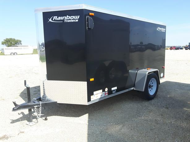 2021 Rainbow 5X10X60 Enclosed Cargo Trailer Ramp Door HH4584