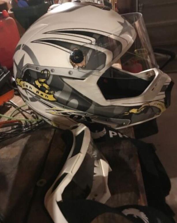Zox Motocross Helmet and PHX Racing Googles