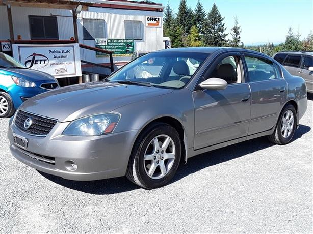 2006 NISSAN ALTIMA S LIVE FOR AUCTION!