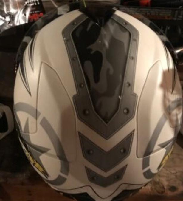 Zox Motor Cross Helmet and Goggles