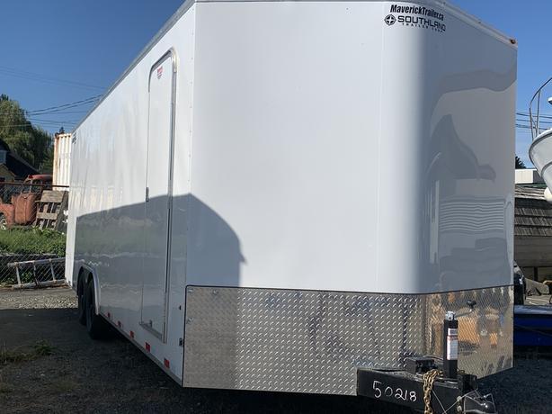 2021 8.6x26 10000LB gvw Enclosed Car Carrier by Royal