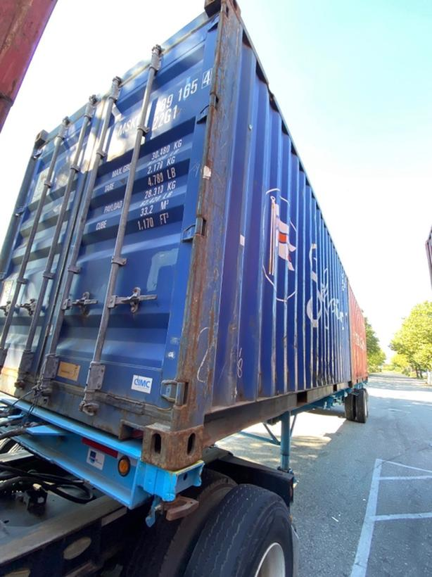 HONEYBOX - DELTA - used 20' shipping container - MSKU7891654