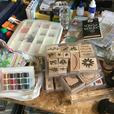 Scrapbooking and Stamping Up Supplies