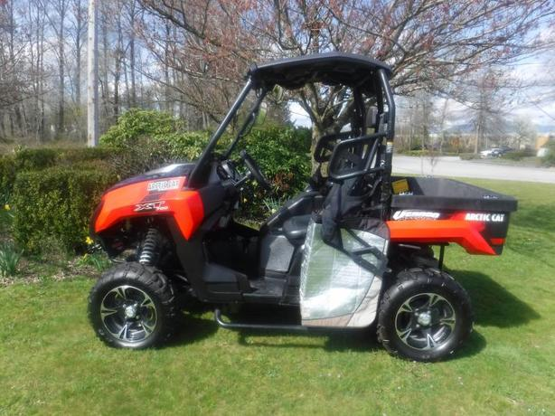 2015 Arctic Cat Side By Side Prowler XT 700 with Dump Box 4x4