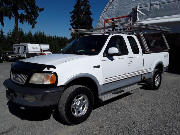 1997 FORD F150 LARIAT EXT CAB 4X4 LIVE FOR AUCTION!