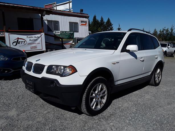 2006 BMW X3 2.5I LIVE FOR AUCTION!