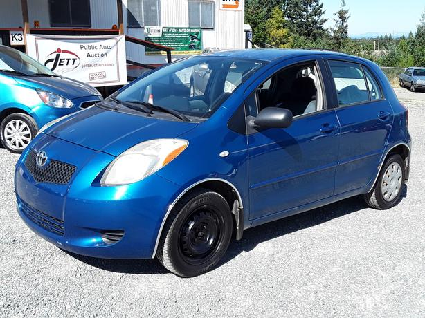 2007 TOYOTA YARIS LIVE FOR AUCTION!