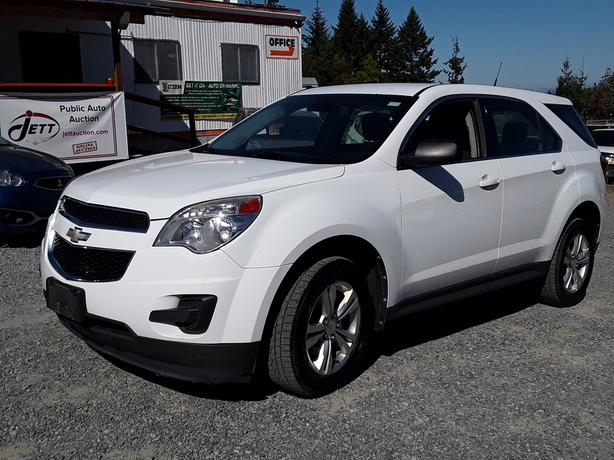 2012 CHEVROLET EQUINOX LS LIVE FOR AUCTION!