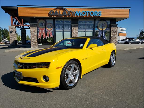 2012 Chevrolet Camaro 2SS - Leather Interior, Back-Up Camera, Heated Front Seats