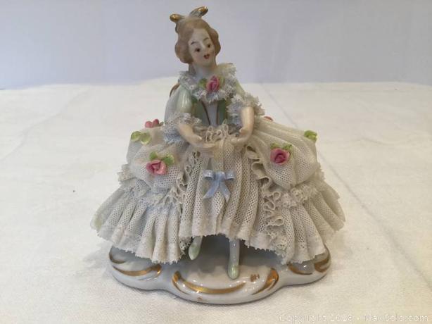 China Dresden and Muller Porcelain Figures - $500