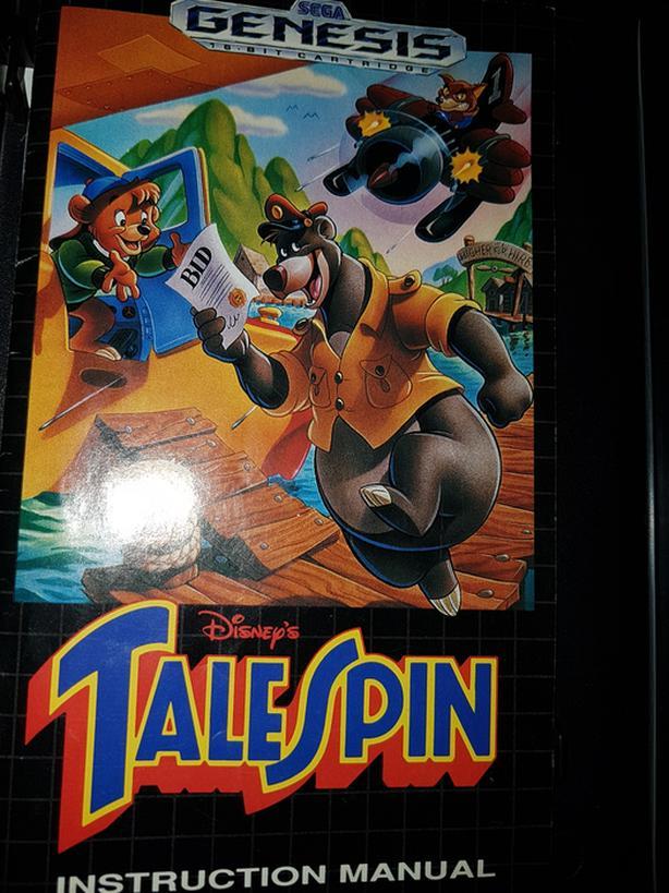 Sega genesis game talespin