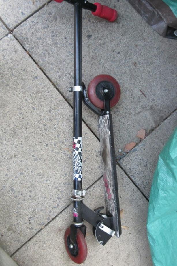 Folding HROC child scooter 120mm wheels