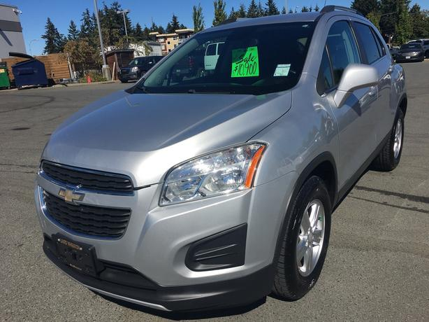 2013 CHEVROLET TRAX LT AWD FOR SALE