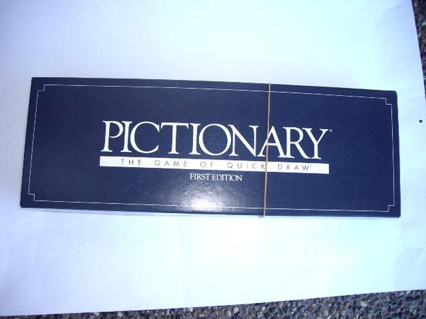 PICTIONARY THE GAME OF QUICK DRAW FIRST EDITION COMPLETE