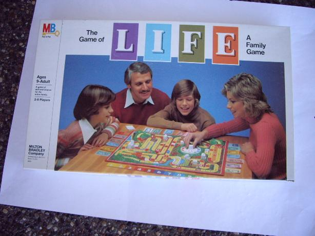 THE GAME OF LIFE, BOARD GAME 1979 COMPLETE