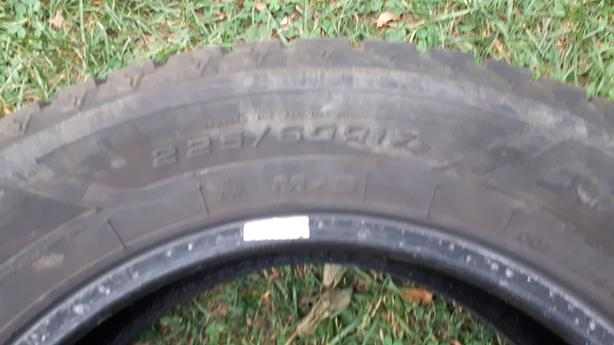 "4 -  ""Goodyear"" Winter Tires -  225/60R17"