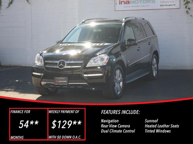 2011 Mercedes-Benz - GL-Class GL350 Bluetec - LOCAL BC SUV - NO ACCIDNETS!