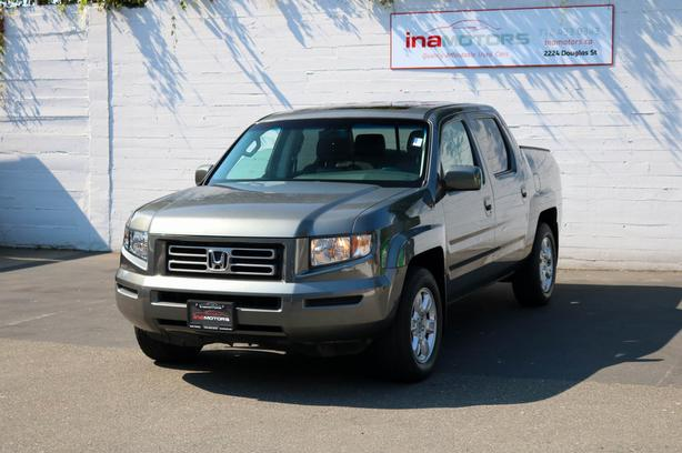 2007 Honda Ridgeline EX-L 4WD - LOCAL BC TRUCK - NO ACCIDENTS!