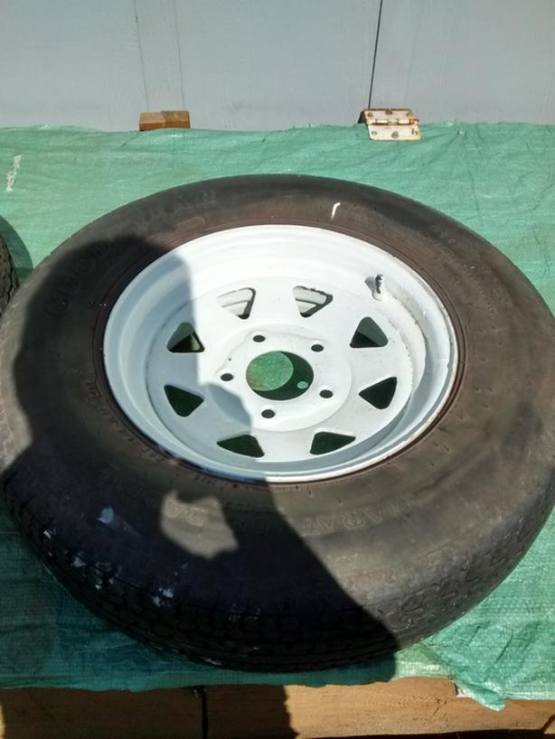 Trailer Tires/rims