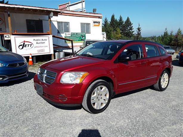 2010 DODGE CALIBER SXT LIVE FOR AUCTION!