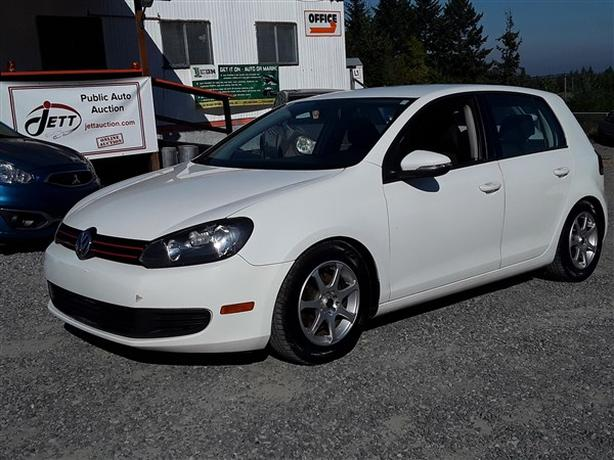 2012 VW GOLF LIVE FOR AUCTION!