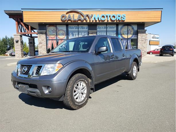 2016 Nissan Frontier SL - 4X4, Crew Cab, Back-Up Camera