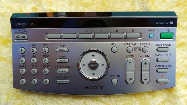 Sony PCS-RTL50 Remote Commander