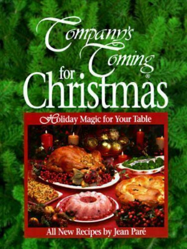 Company's Coming for Christmas Hardcover Holiday