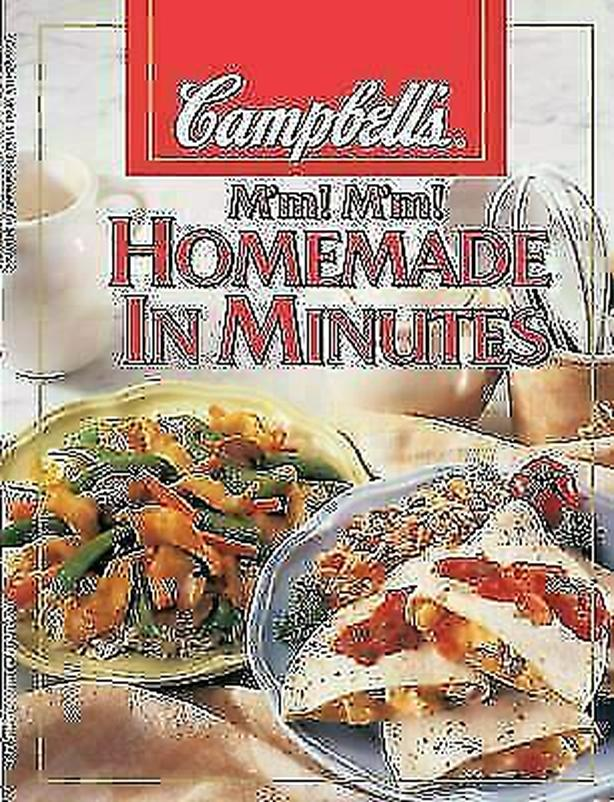 Campbell's M'm! M'm! Homemade in Minutes by Campbell's Soup