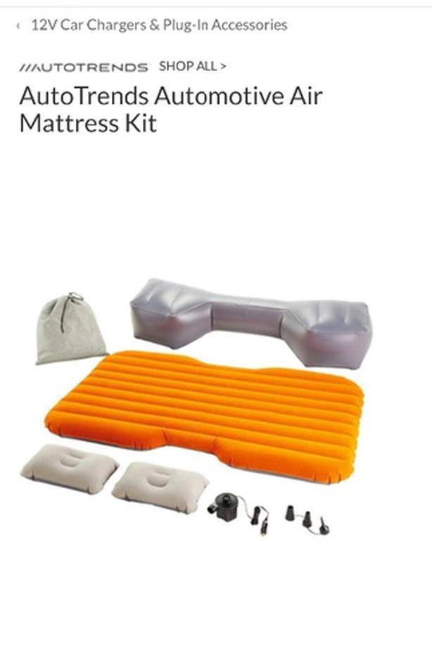 back seat air mattress
