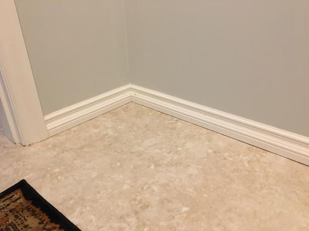 "3 1/2"" Painted Baseboards"